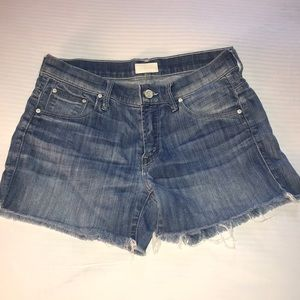 Mother S.N.S. Frayed Short Size 24